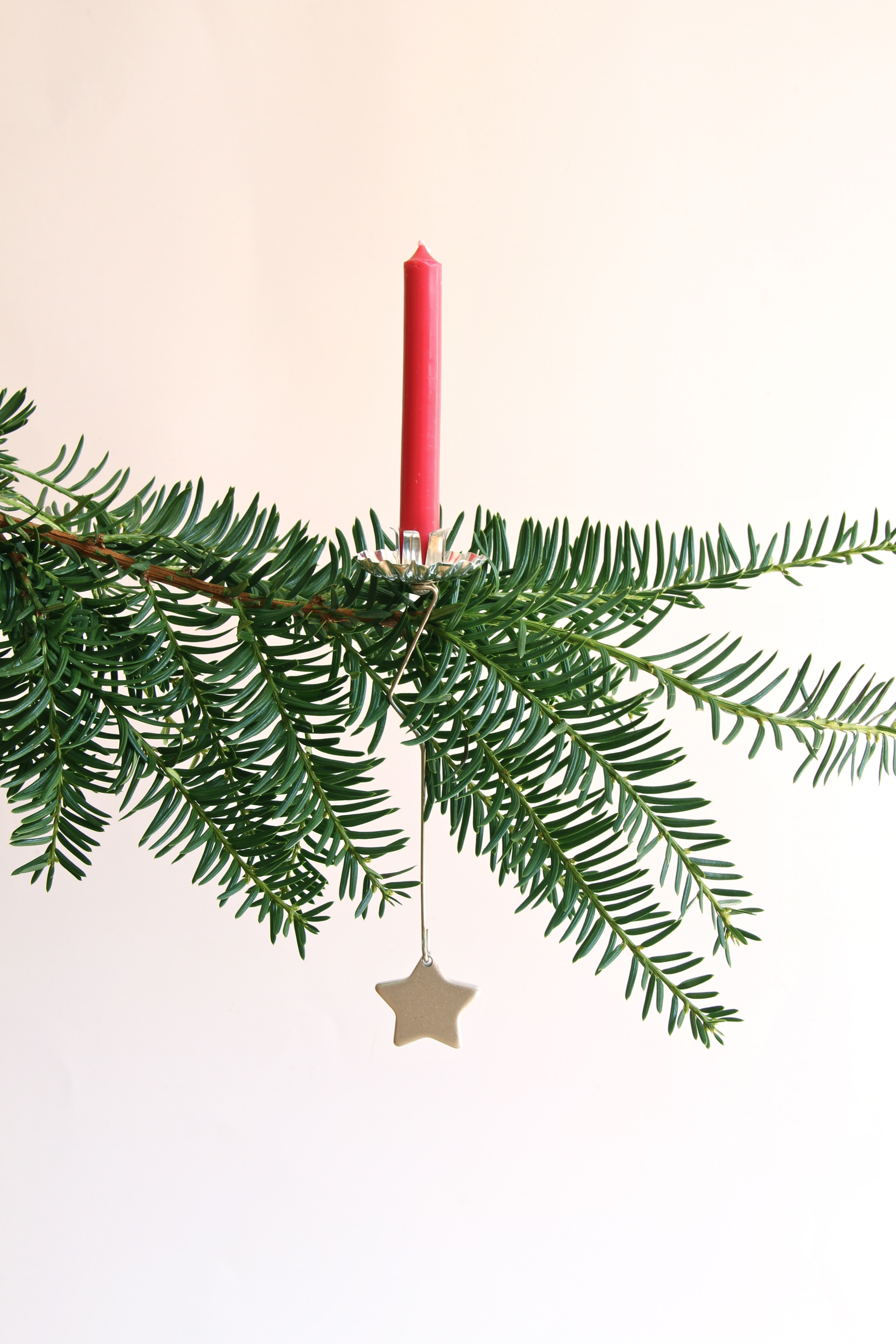 german christmas tree candle holders
