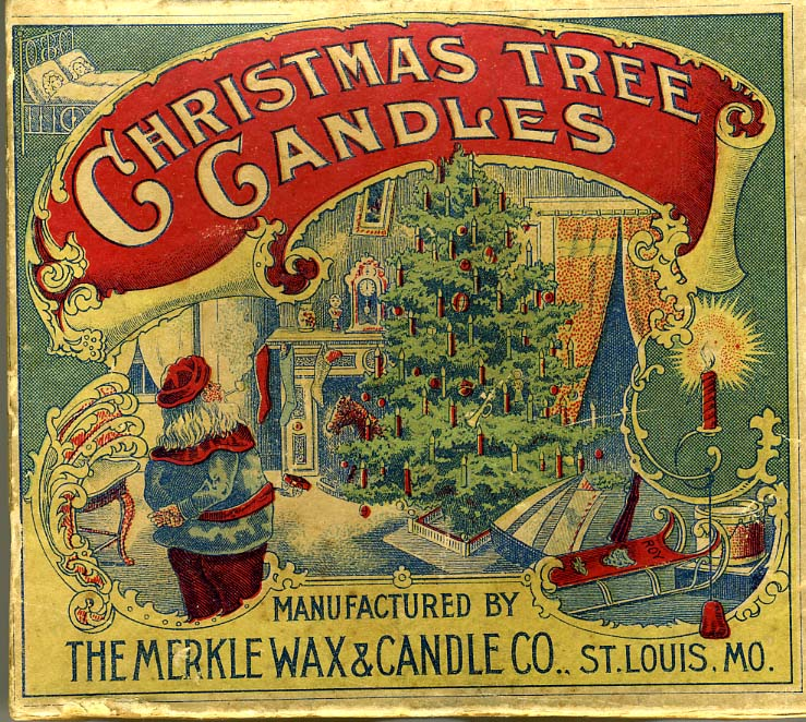 vintage christmas tree candles and candle holders historic patents