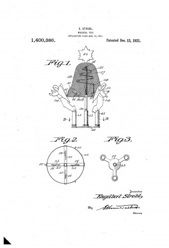 Swedish Candle Chime - Christmas Tree Candles - Patent