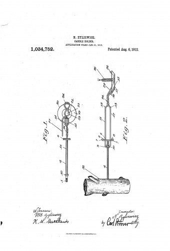 Christmas Tree Candle Holder - Screw - Patent
