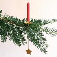 Hanging Pendulum Christmas Tree Candle Holders